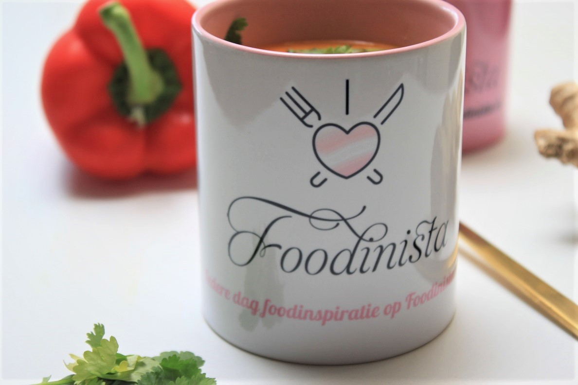 Currysoep met zoete aardappel en paprika recept foodblog Foodinista