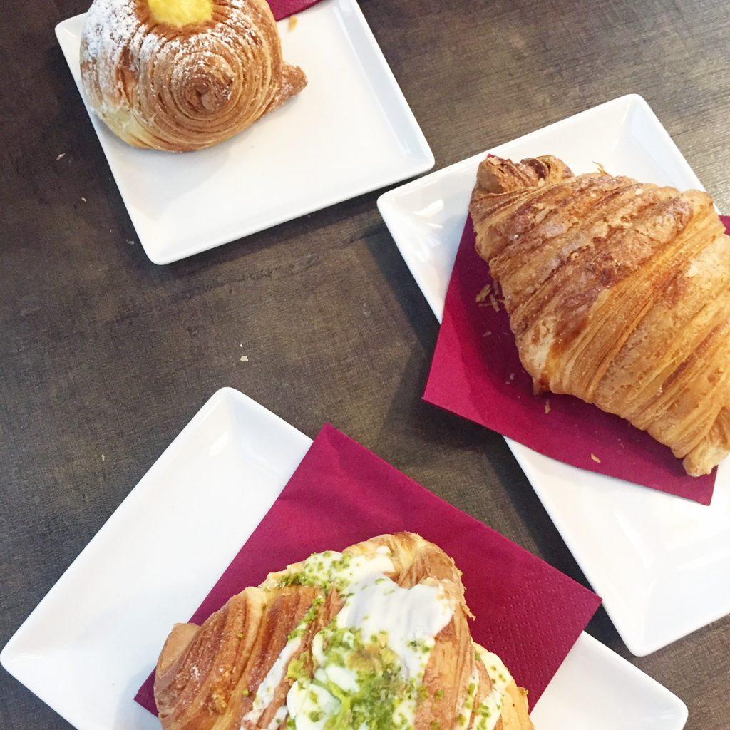 Pistache croissantjes in Padova reis en eettips Adriatische kust van Foodinista