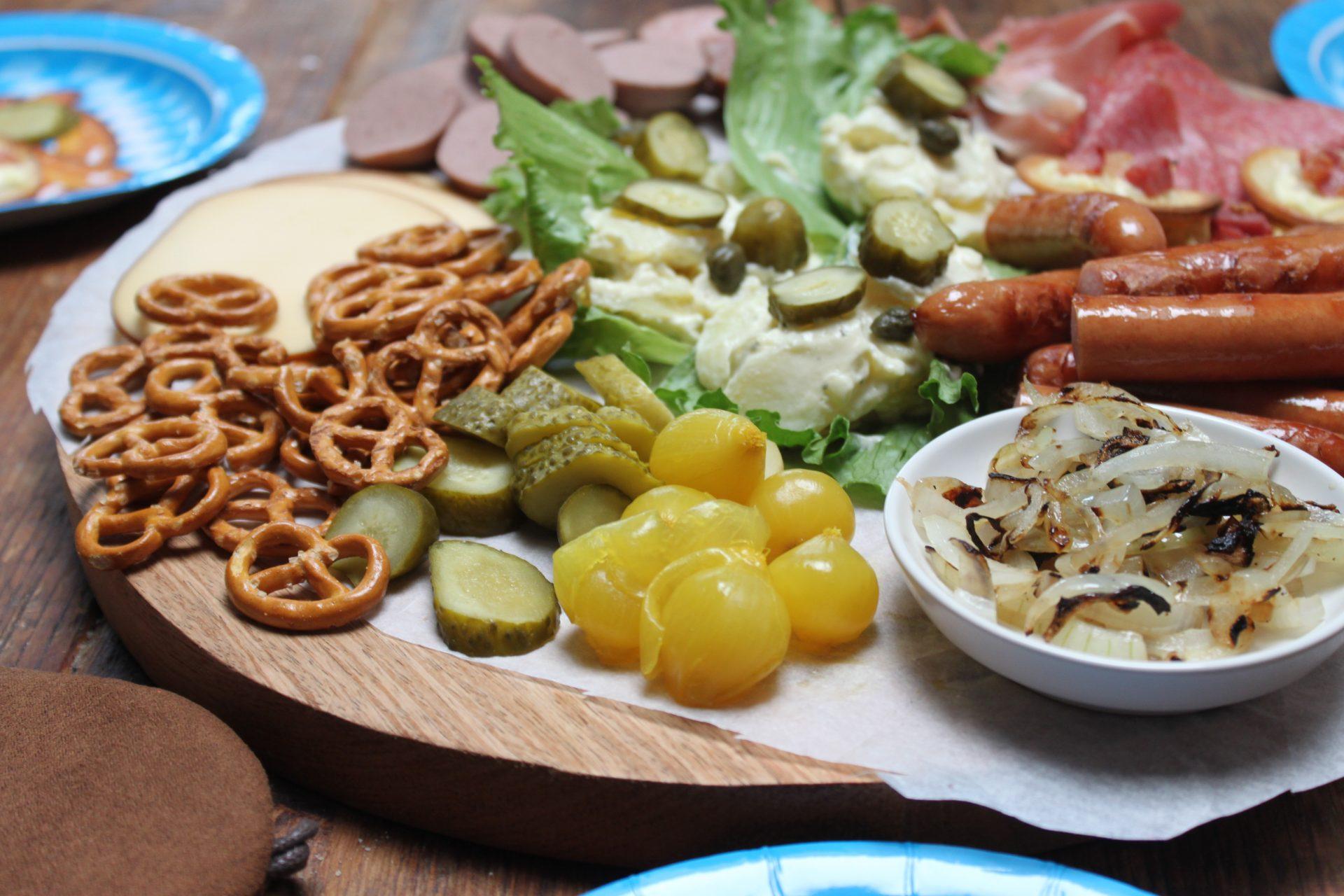 Duitse borrelplank inspiratie Oktoberfest recepten Foodblog Foodinista