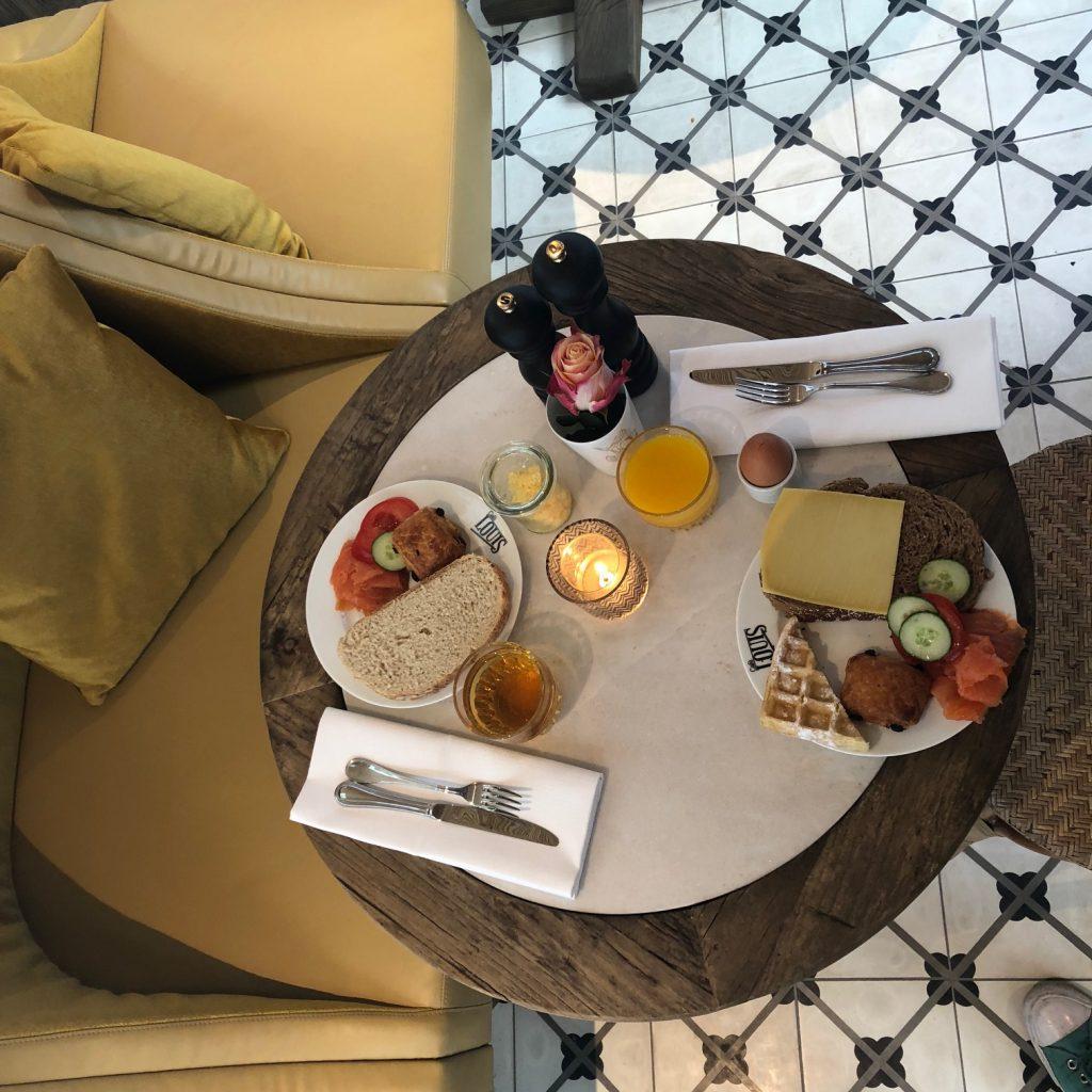Ontbijt hotel Monastere in Maastricht