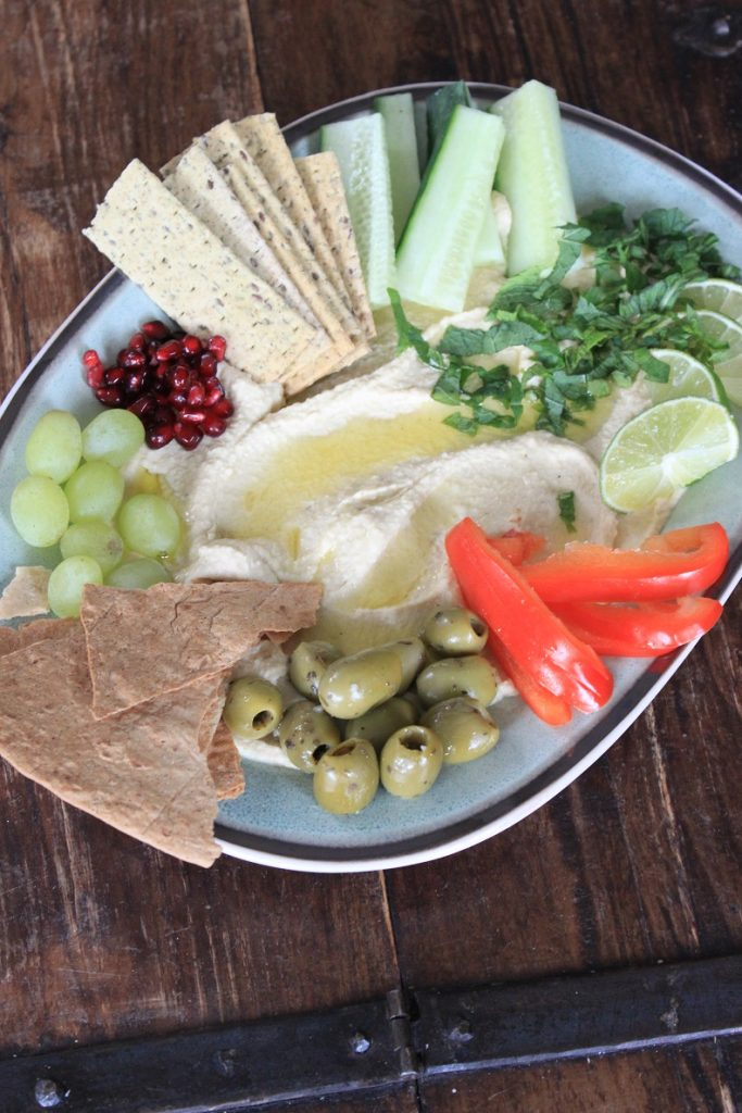 Hummus borrelbord recept van Foodblog Foodinista