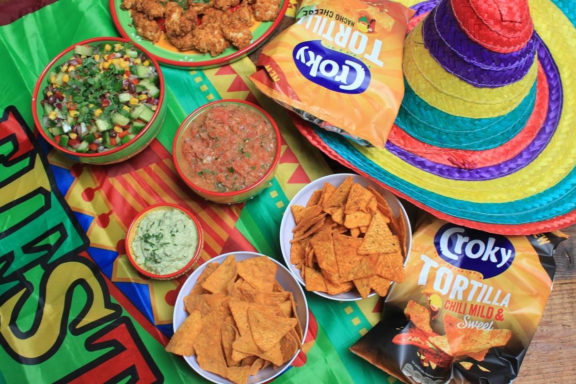 Mexicaanse fiesta met Croky Tortilla winactie op Foodblog Foodinista