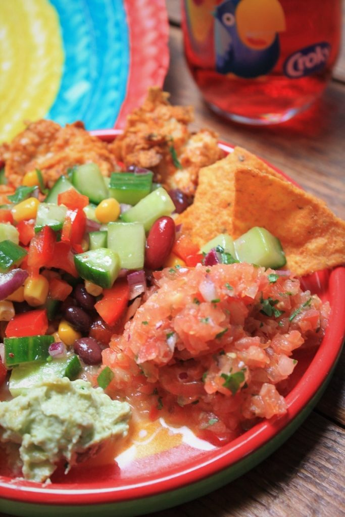 Mexicaanse fiesta feestbord met Croky Tortilla recepten Foodblog Foodinista