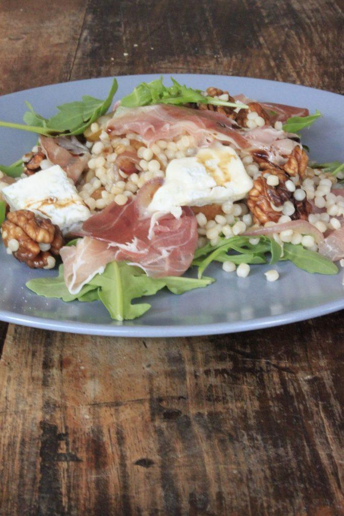 Pasta met walnoot en peer recept van Foodblog Foodinista