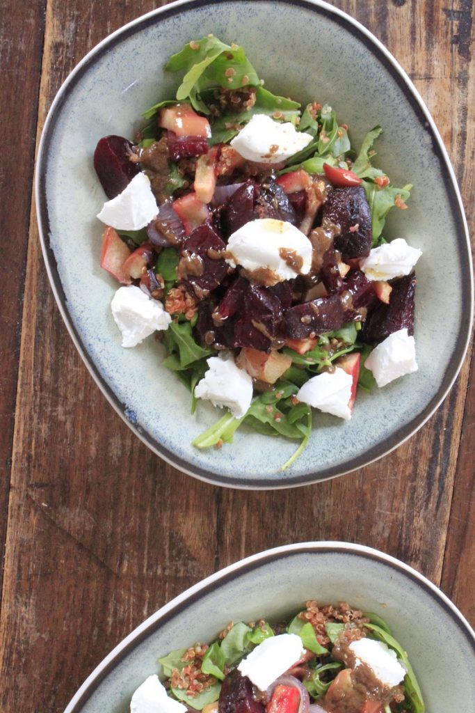 Quinoasalade met bietjes en geitenkaas recept van Foodblog Foodinista