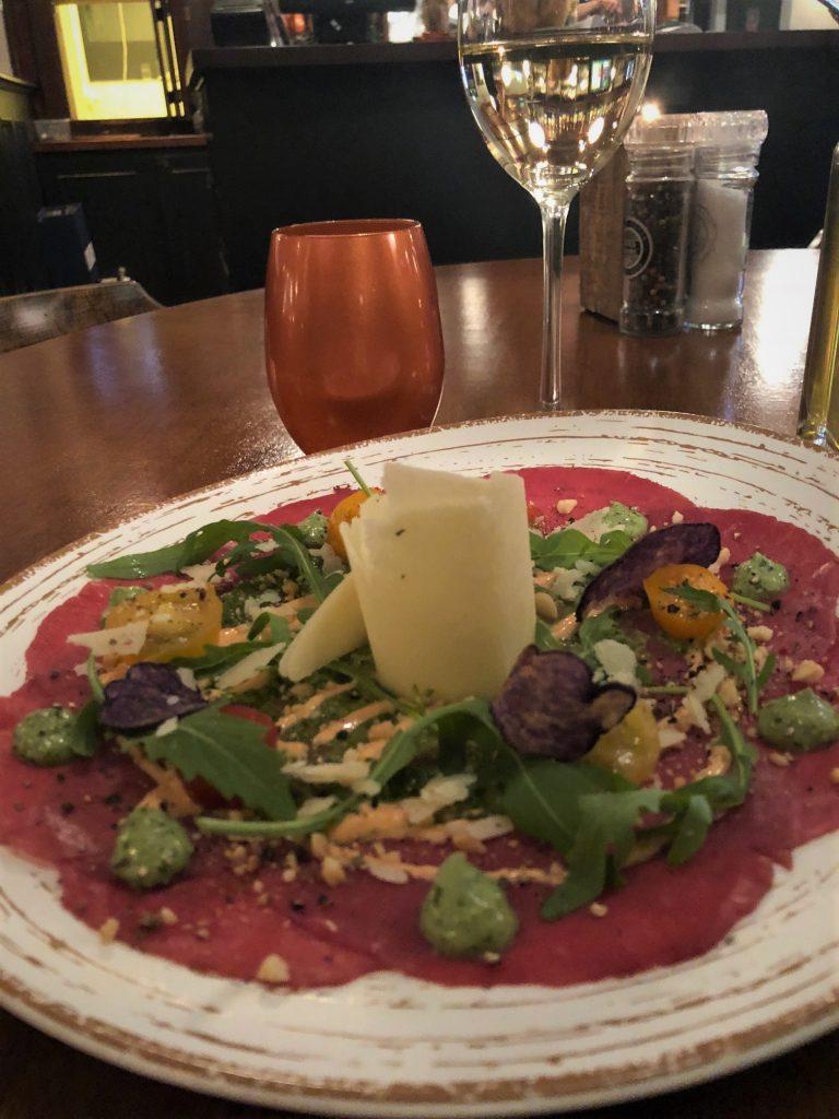 Carpaccio Proeven met Social Deal bij Restaurant De Boschkens Foodblog Foodinista