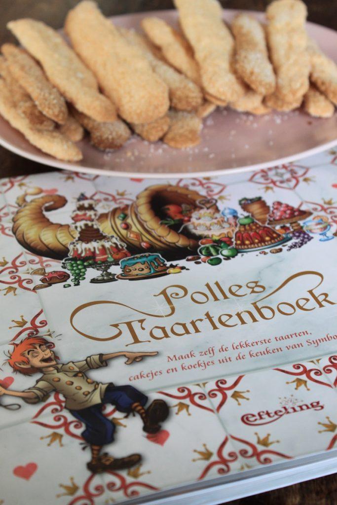 Lange vingers recept uit Polles Taartenboek kookboek recensie Foodblog Foodinista
