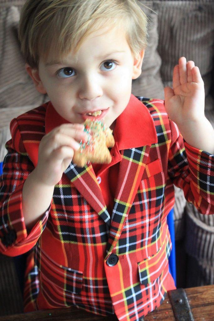 Recept kerstkoekjes met vanille en glitters Foodblog Foodinista kerstrecepten