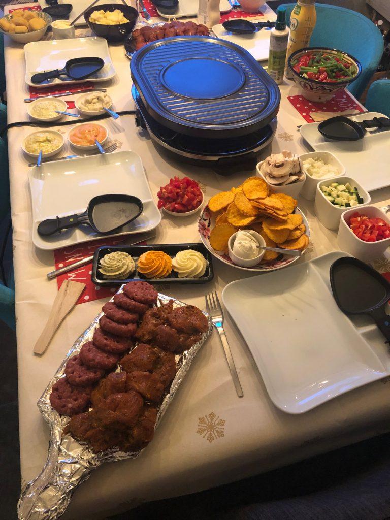 Gourmetten met de familie Kerstdagen 2018 Foodblog Foodinista
