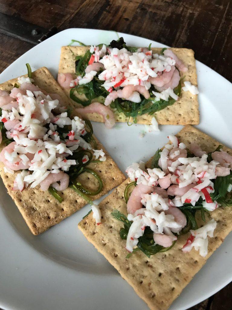 NewFysic recepten sushicrackers met krab Foodblog Foodinista