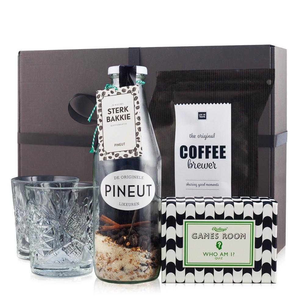 Pineut Sterk Bakkie Gift Box Cadeau tips van Foodblog Foodinista