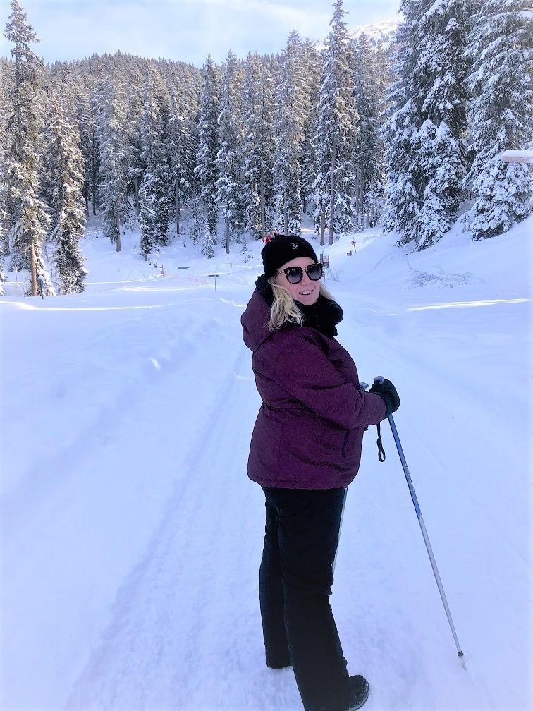 Wandelen naar Restaurant Les Clos Bernard in Méribel Savoie Frankrijk wintersportbestemming Foodblog Foodinista