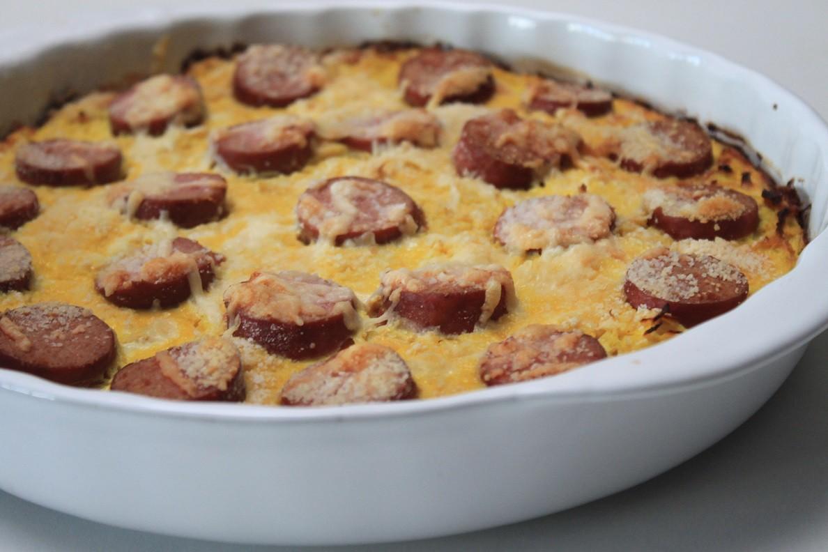 Frittata met zuurkool en rookworst recept van Foodblog Foodinista