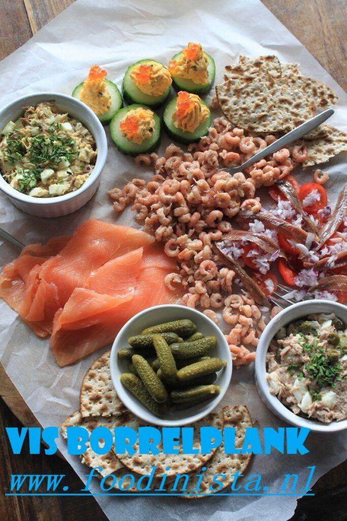 Vis Borrelplank Foodblog Foodinista