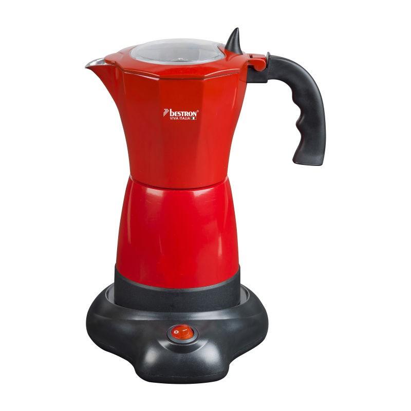Vrolijke Moederdag cadeautjes tips Rode espresso machine van Foodblog Foodinista