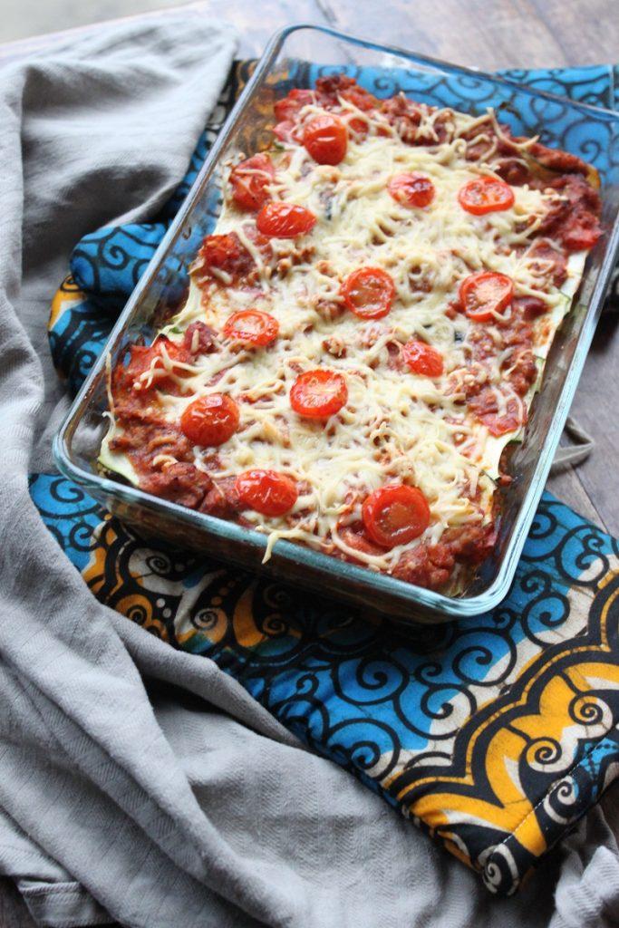 courgettelasagne recept zonder pasta