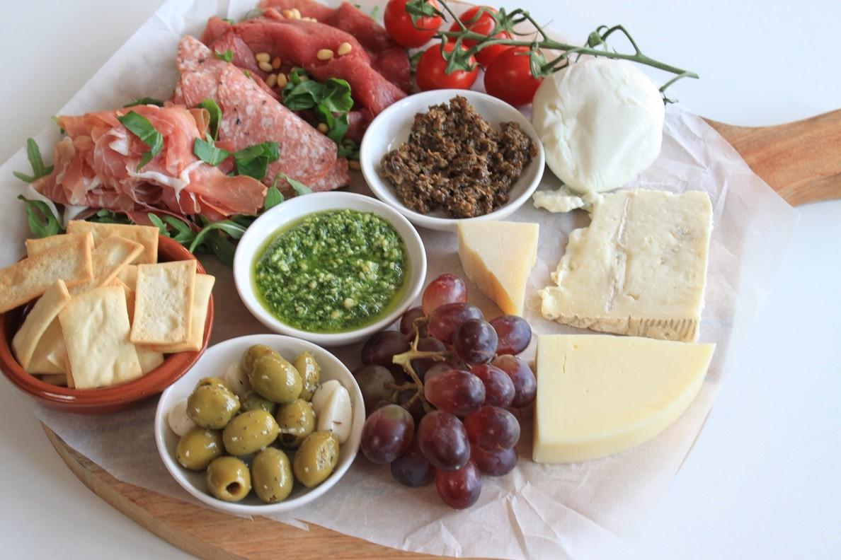Italiaanse borrelplank samenstellen tips van Foodblog Foodinista