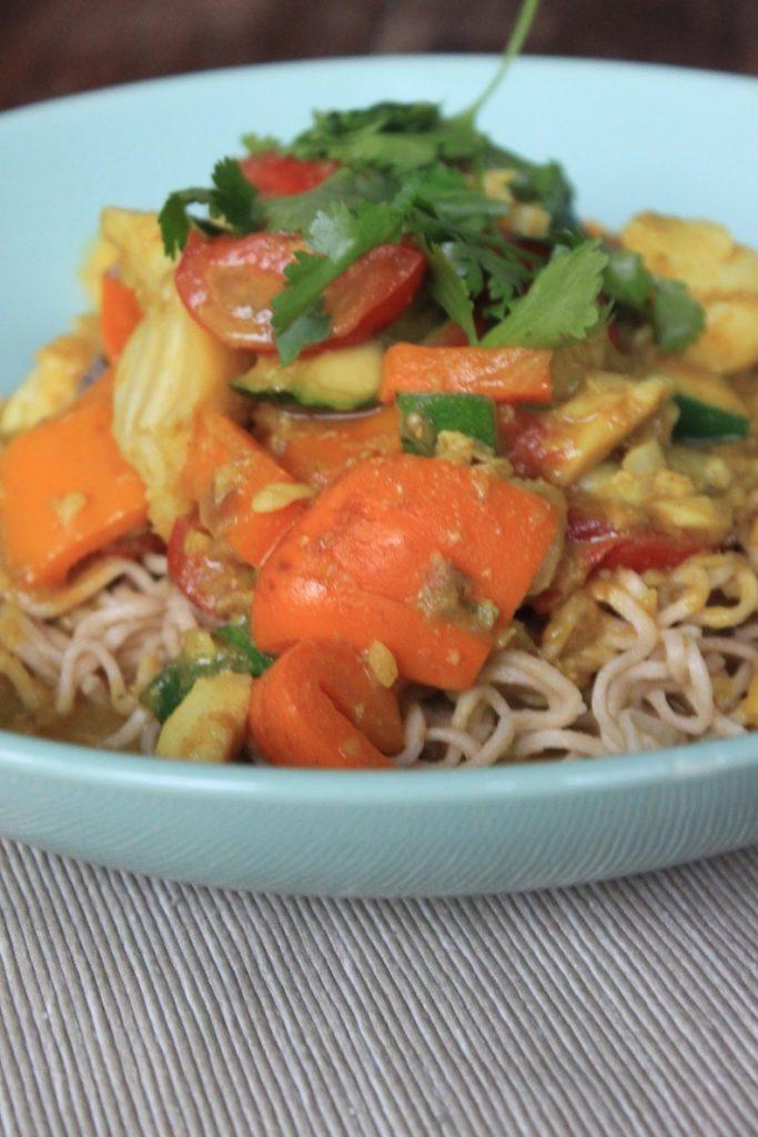 Garnalen kerrie met noodles recept van Foodblog Foodinista