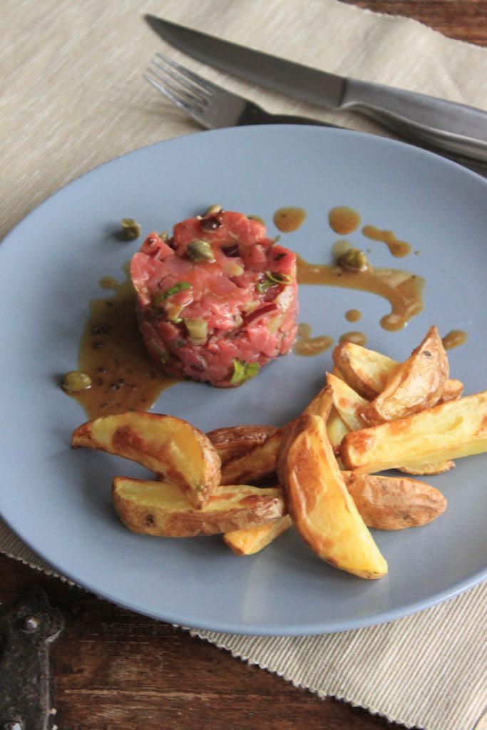 Recept Klassieke Steak Startare van Foodblog Foodinista