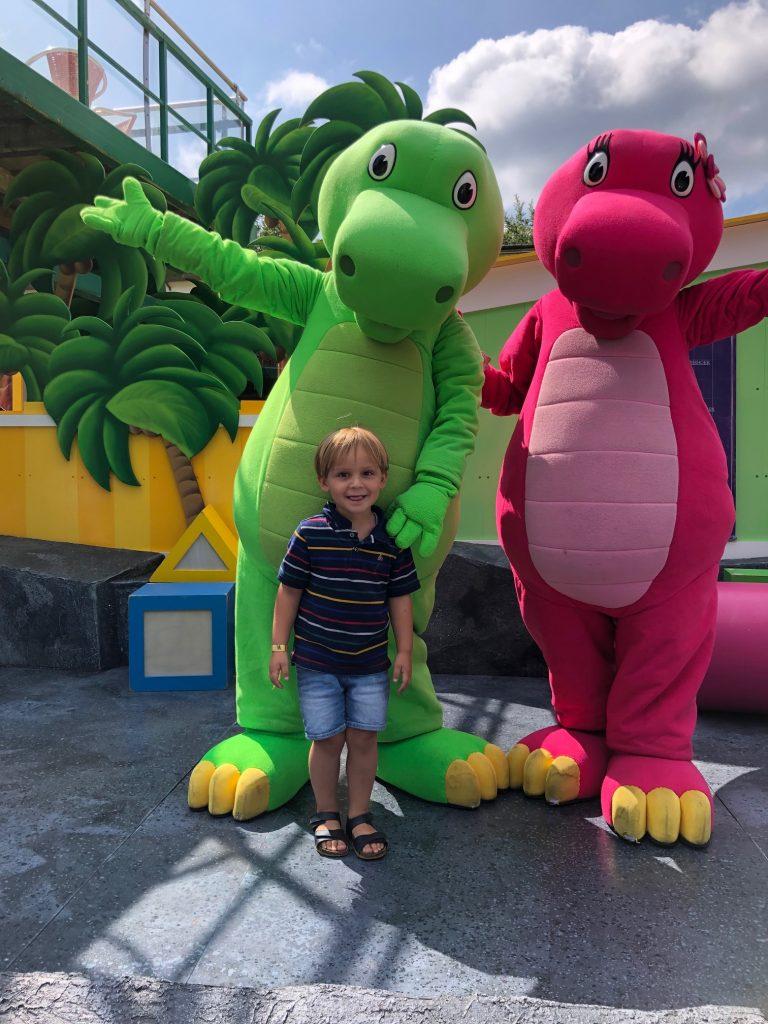 Dino's bij Julianatoren in Apeldoorn tips met kinderen in de zomervakantie