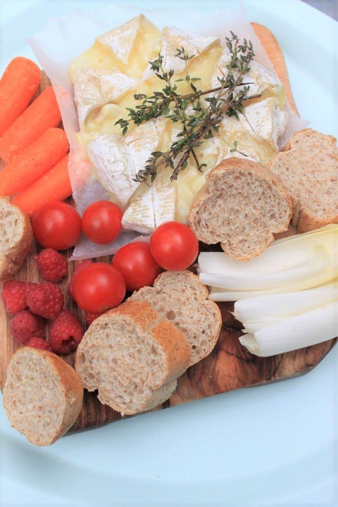 Gebakken camembert van de bbq recept van Foodblog Foodinista