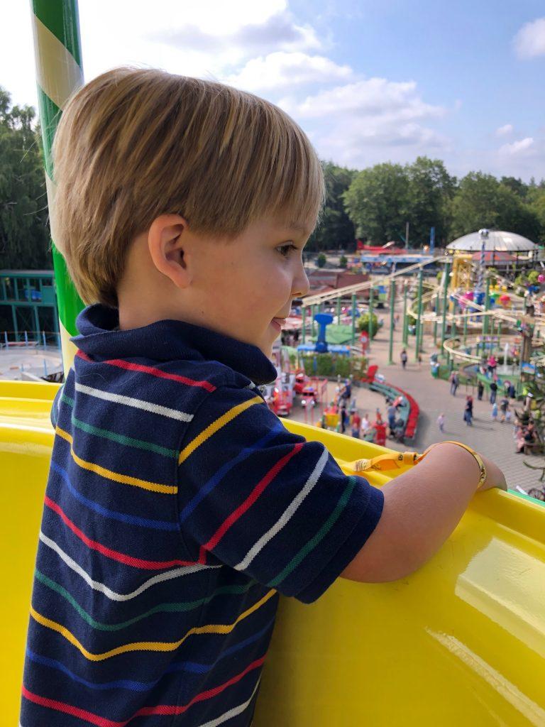 Uitzicht reuzenrad in Julianatoren genieten met kinderen in de zomervakantie tips van Foodinista