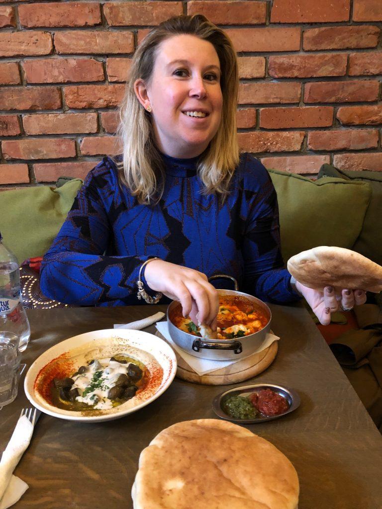 Eten bij Hummusbar in Budapest Eten en drinken in Budapest tips van Foodinista reizen