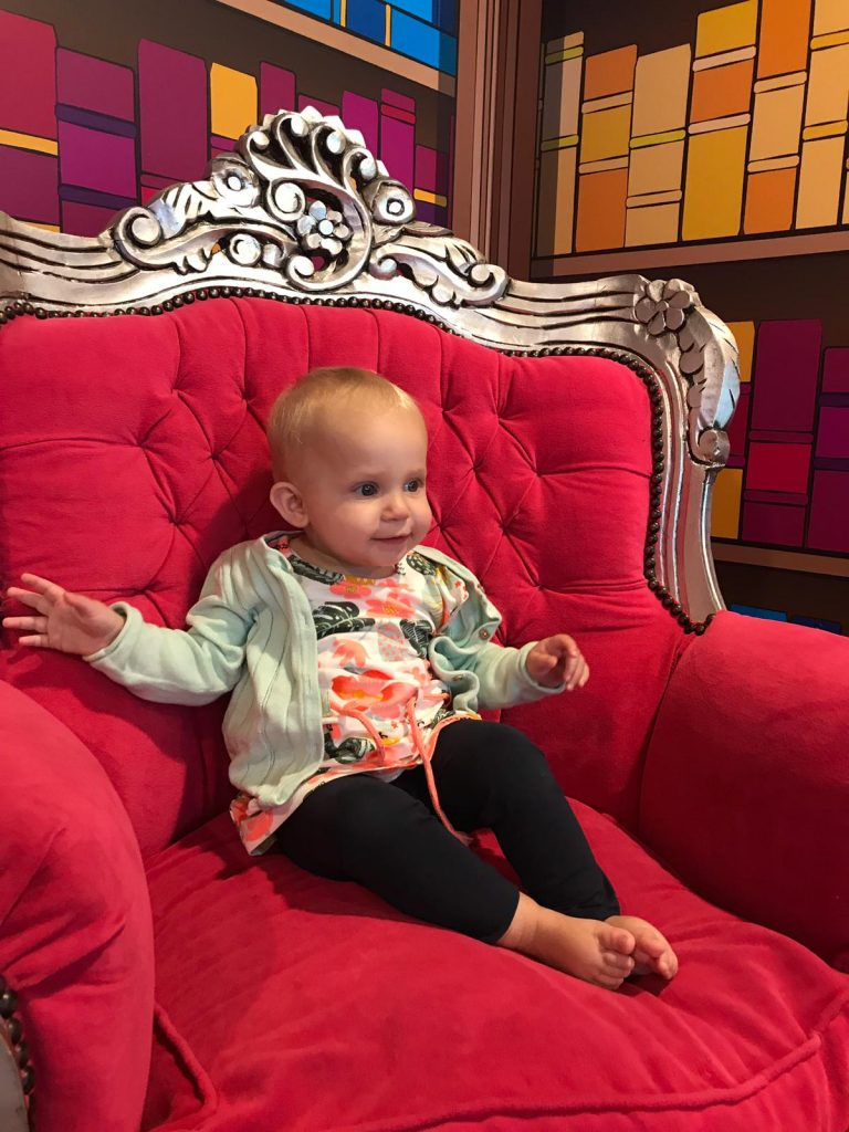 Klaar voor de show Julianatoren met kleine kinderen