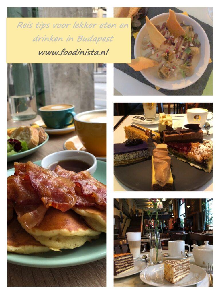 5 Tips lekker eten en drinken in Boedapest - Weekendje Boedapest reistips