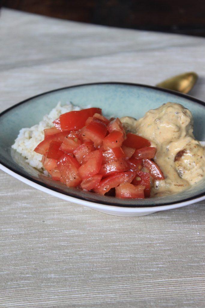 Recept gehaktballetjes in saffraansaus van Foodblog Foodinista