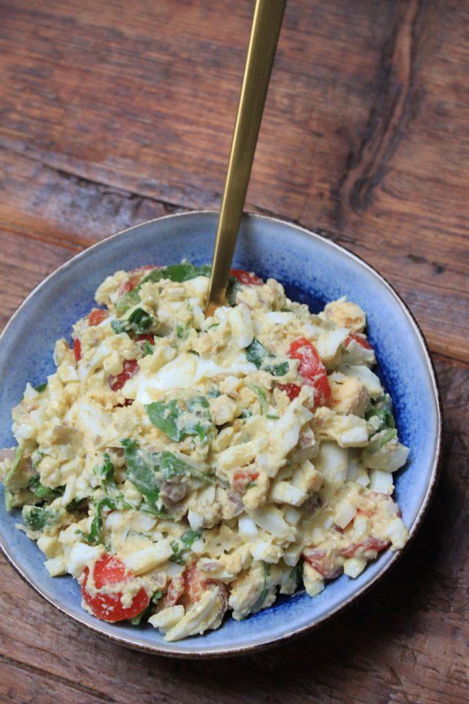 Lekker eten met WW Flex Italiaanse eiersalade Recept van Foodblog Foodinista