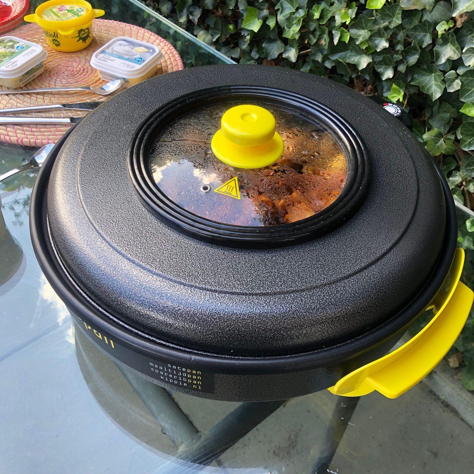 Kippie Kip pan getest tijdens verjaardag