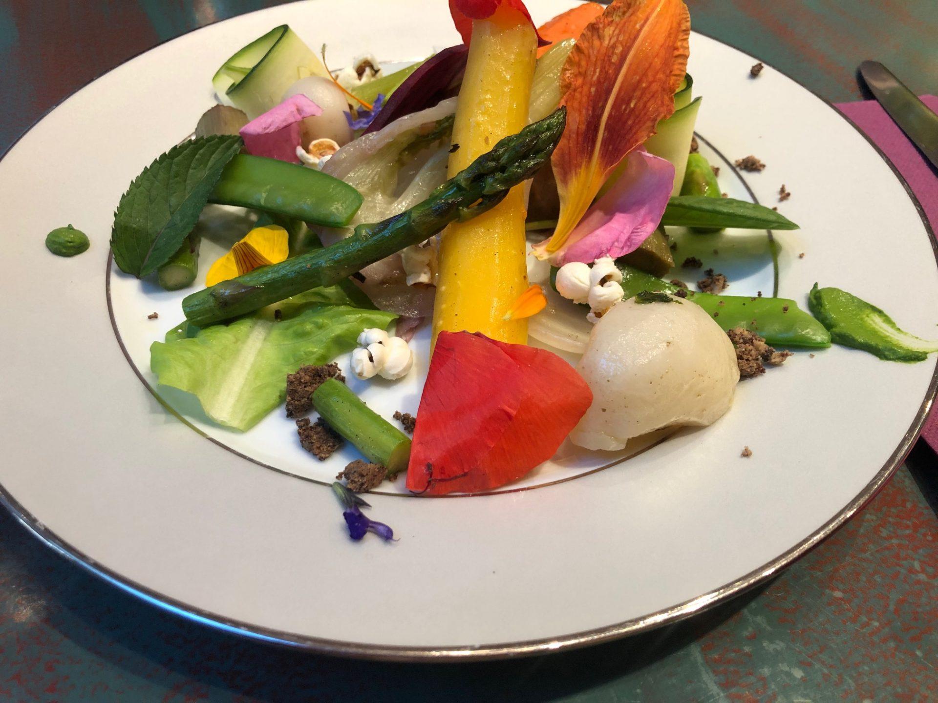 Kookworkshop in de Ardèche groentetuintje bereiden Foodblog Foodinista