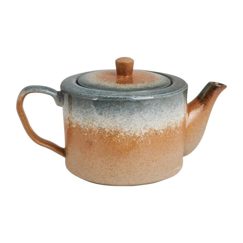 Theepot in rustieke tinten najaars shop tips van Foodblog Foodinista