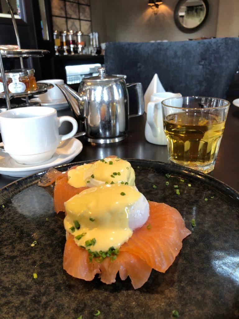 Reis tips in Verrassend Newcastle Upon Tyne van Foodinista Gepocheerde eieren met zalm bij The Vermont Hotel in Newcastle