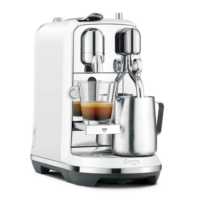 Nespresso machine barista stijl koffiezetapparaat favorieten Foodblog Foodinista