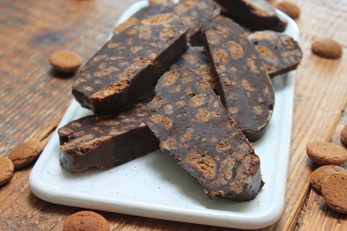 Arretjescake met kruidnootjes en speculaas recept van Foodblog Foodinista
