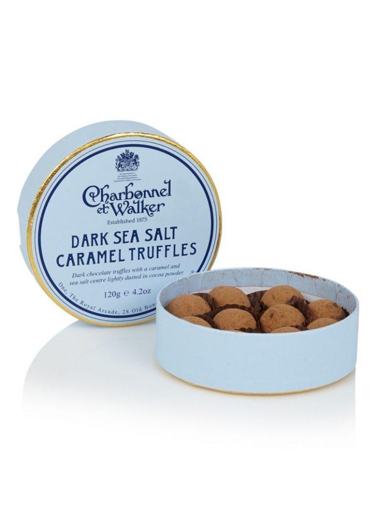 Cadeautjes tips voor Sinterklaas en kerst Gezouten caramel chocolade truffels