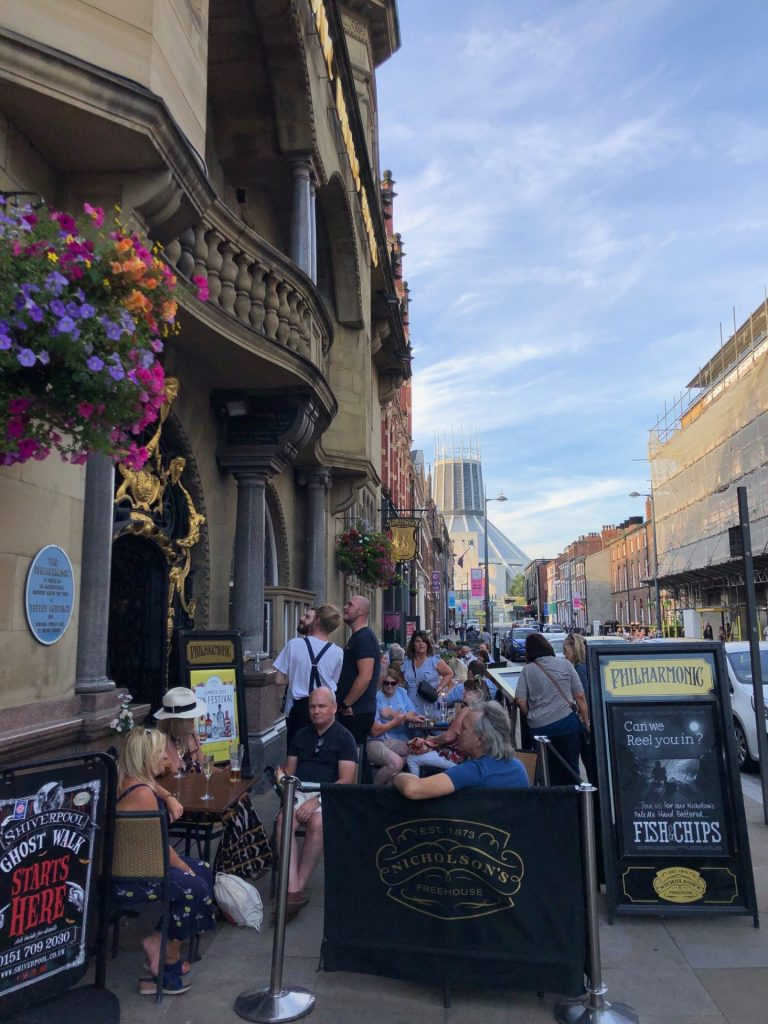 Philarmonic Pub Favoriet van Paul McCartney The Beatles Pub tips van Foodblog Foodinista in Liverpool