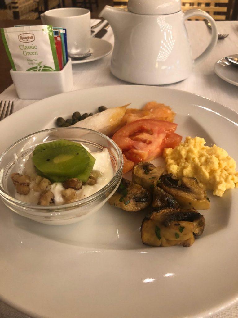Ontbijten bij Intercontinental Athenaeum in Athene Hotel tips weekendje Athene van Foodblog Foodinista