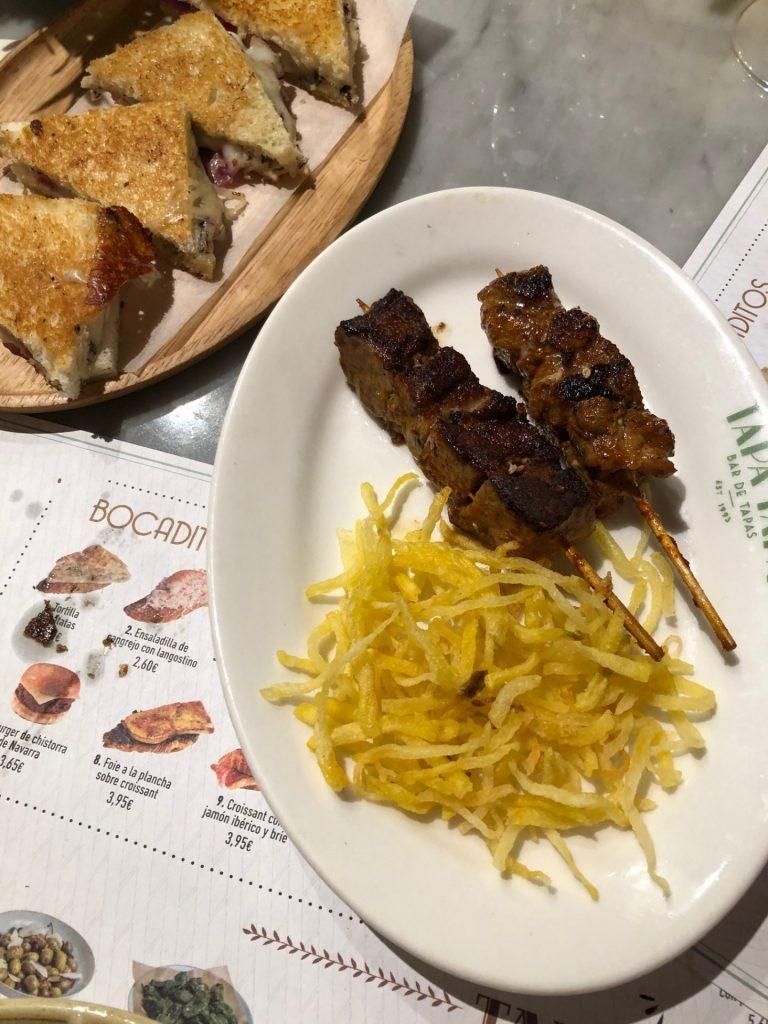 Lekker eten en drinken in Madrid Spaanse tapas