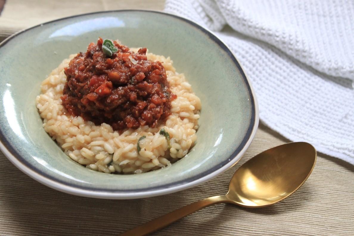 Risotto met ragu recept van Foodblog Foodinista