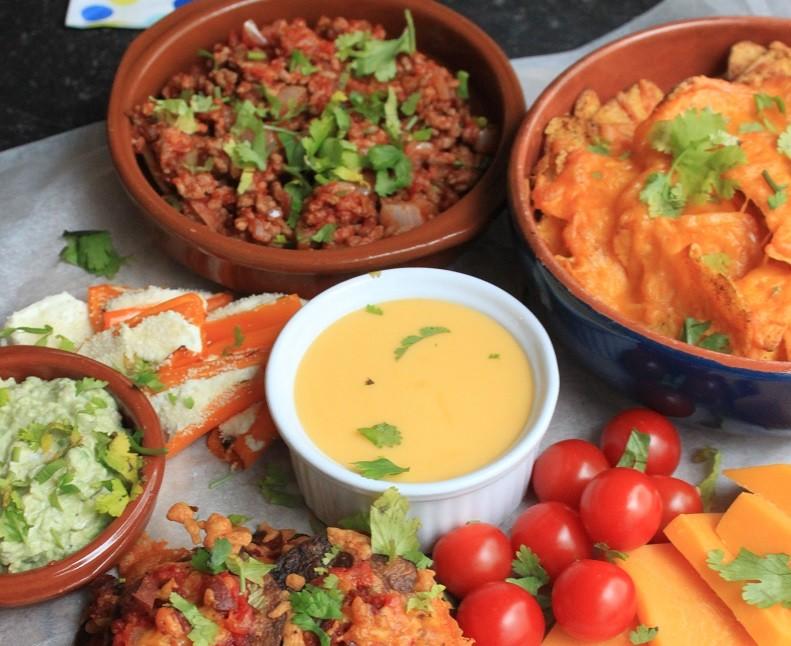 TexMex Borrelplank recept van Foodblog Foodinista