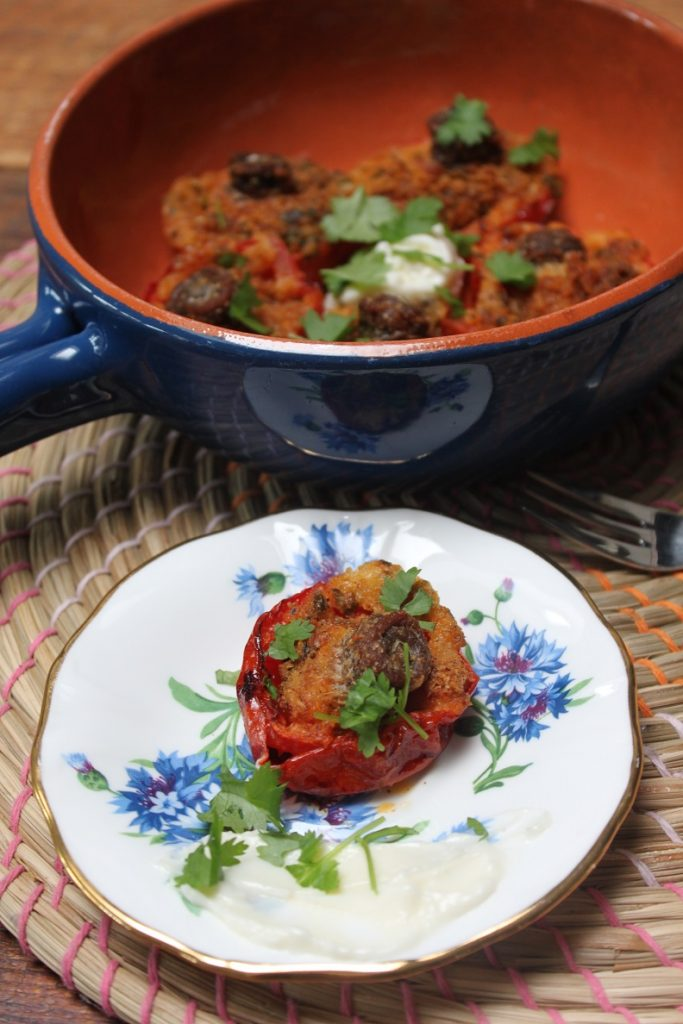 Gegrilde tomaatjes gevuld met ansjovis van de barbecue recept van Foodblog Foodinista