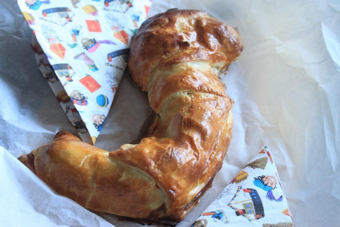 Hartige Banketletter Sinterklaasrecept van Foodblog Foodinista