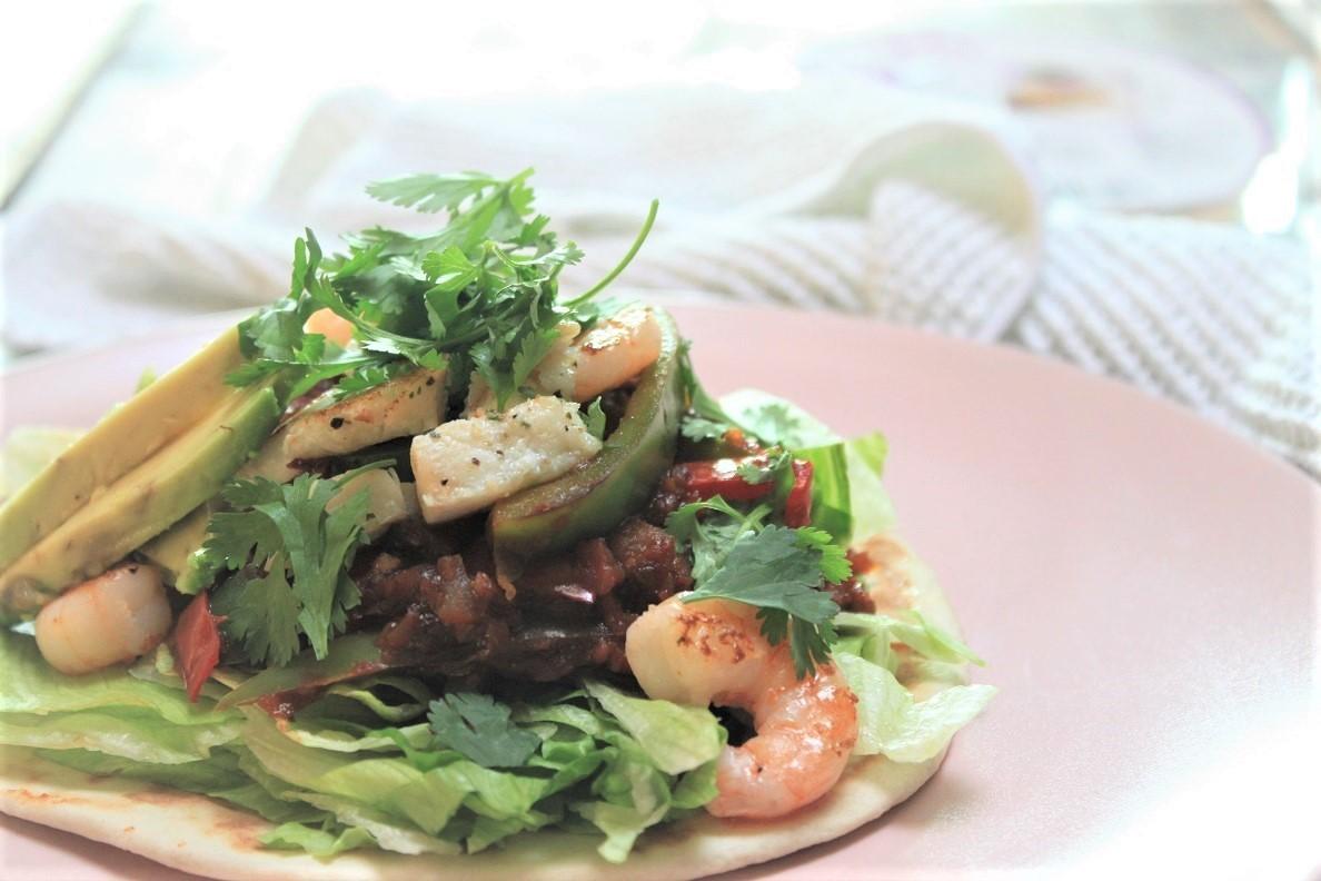 Koolhydraat arme vis taco recept van Foodblog Foodinista