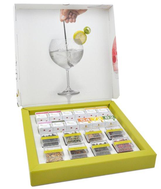 Gin tonic infusion set cadeau idee van Foodblog Foodinista