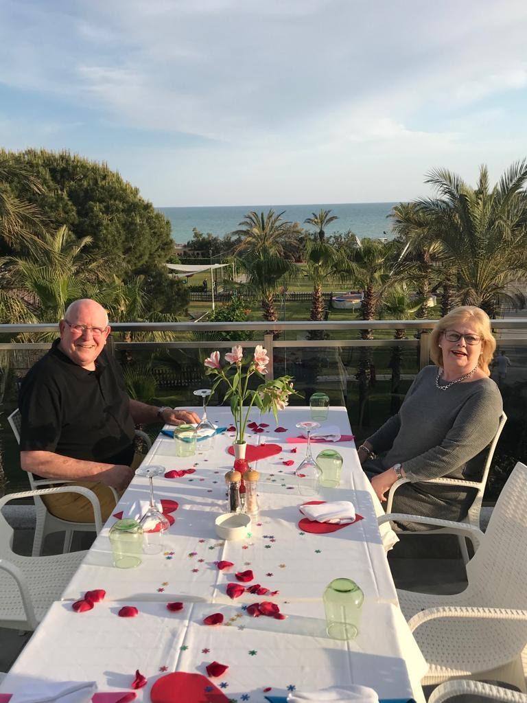 Mijn ouders 50 jaar getrouwd TUI Magic Life Waterworld