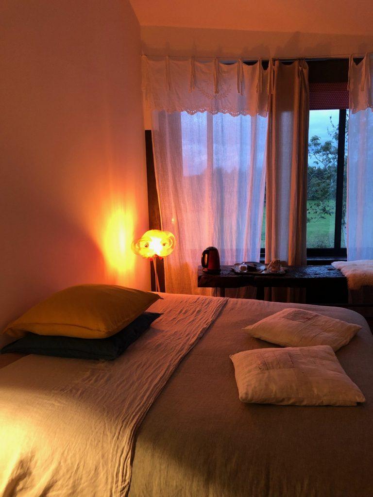 Hotelkamer bij B&B in de Loire Frankrijk