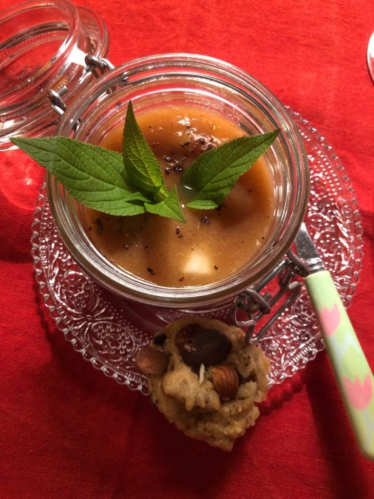 Dessert verse fruitmousse
